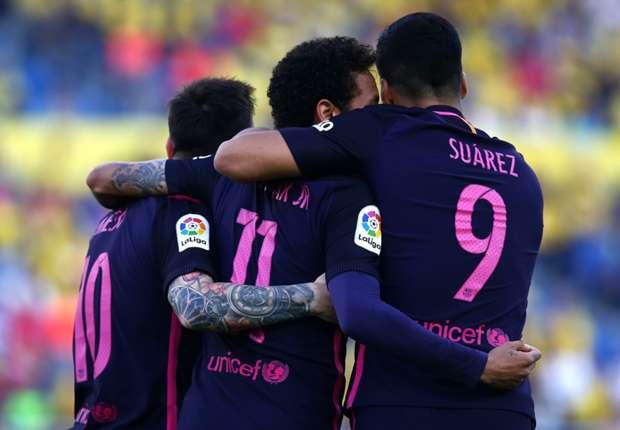 Las Palmas-Barça (1-4), Neymar et le Barça s