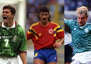 Certaines sélections ont affiché des tuniques assez spéciales dans la longue histoire de la Coupe du monde...