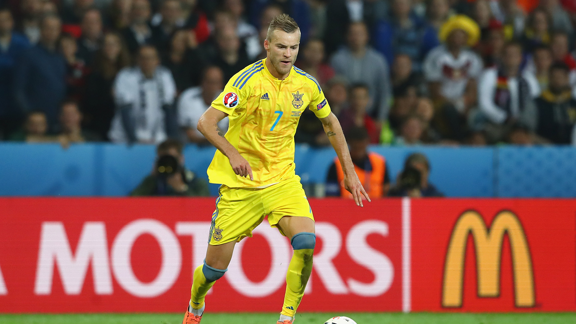 Ukraine players are impressed with their fans ahead of Nigeria friendly – Yarmolenko