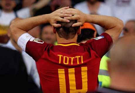 On était à la dernière de Totti et on a vu tout le monde pleurer