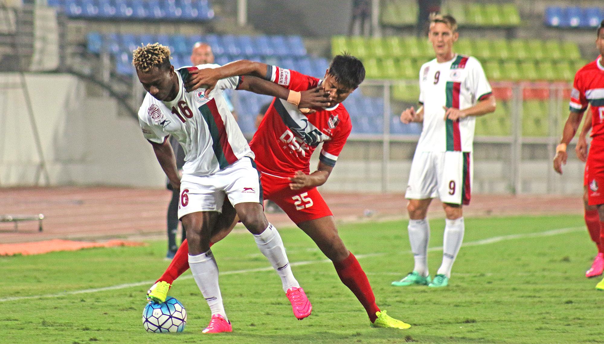 Sony Norde DSK Shivajians Mohun Bagan I-League 2017