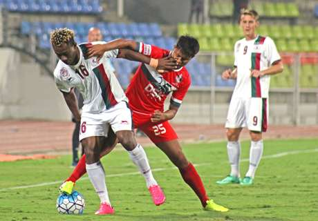 Mohun Bagan's winning run ended by DSK