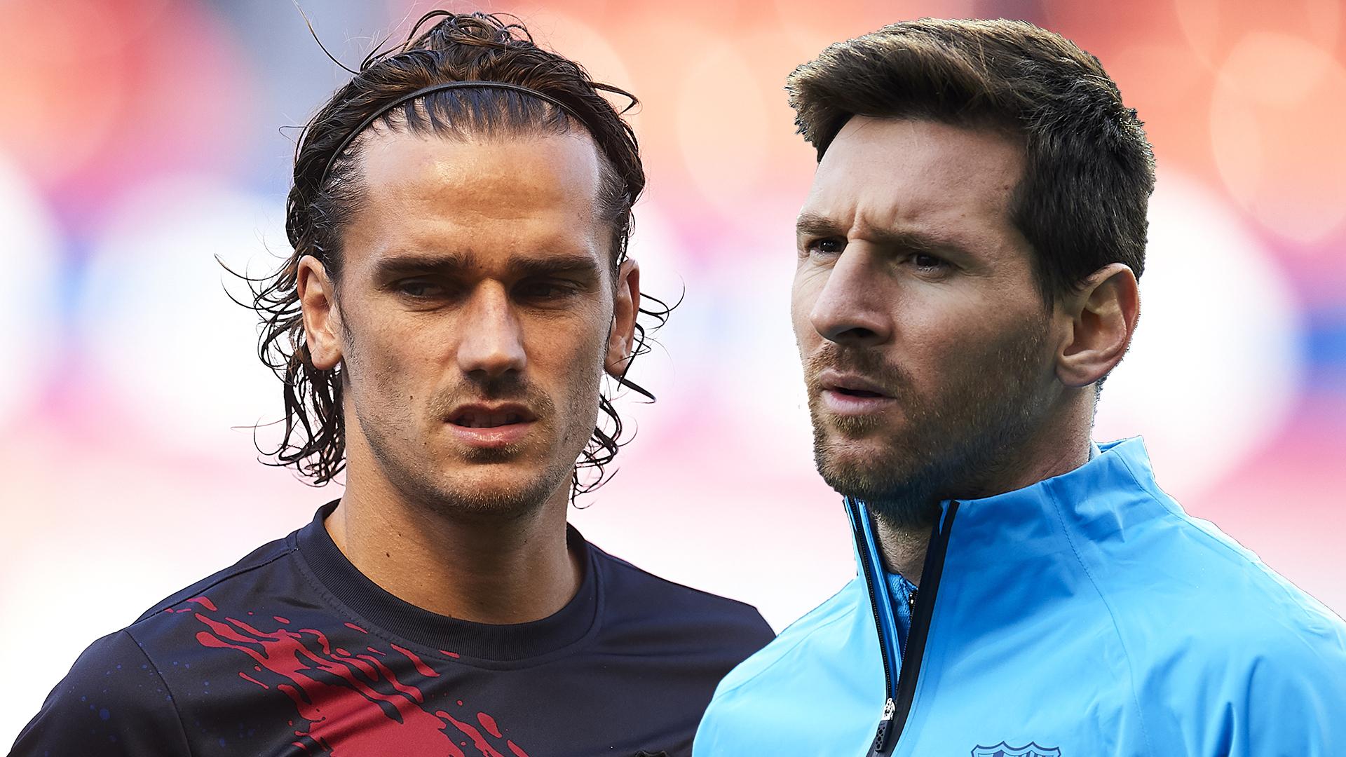 'Leo and Grizi get along' – Pique dismisses talk of Messi and Griezmann rift