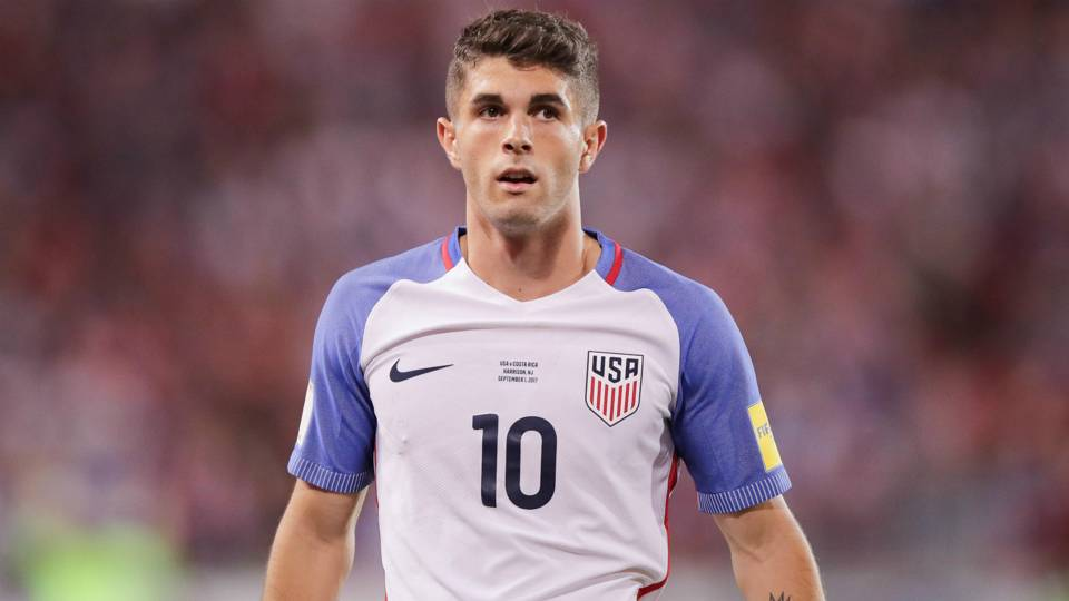 Pulisic, McKennie headline USMNT squad to face England and Italy