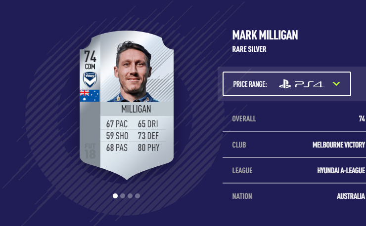 MARK MILLIGAN | Melbourne Victory - 74