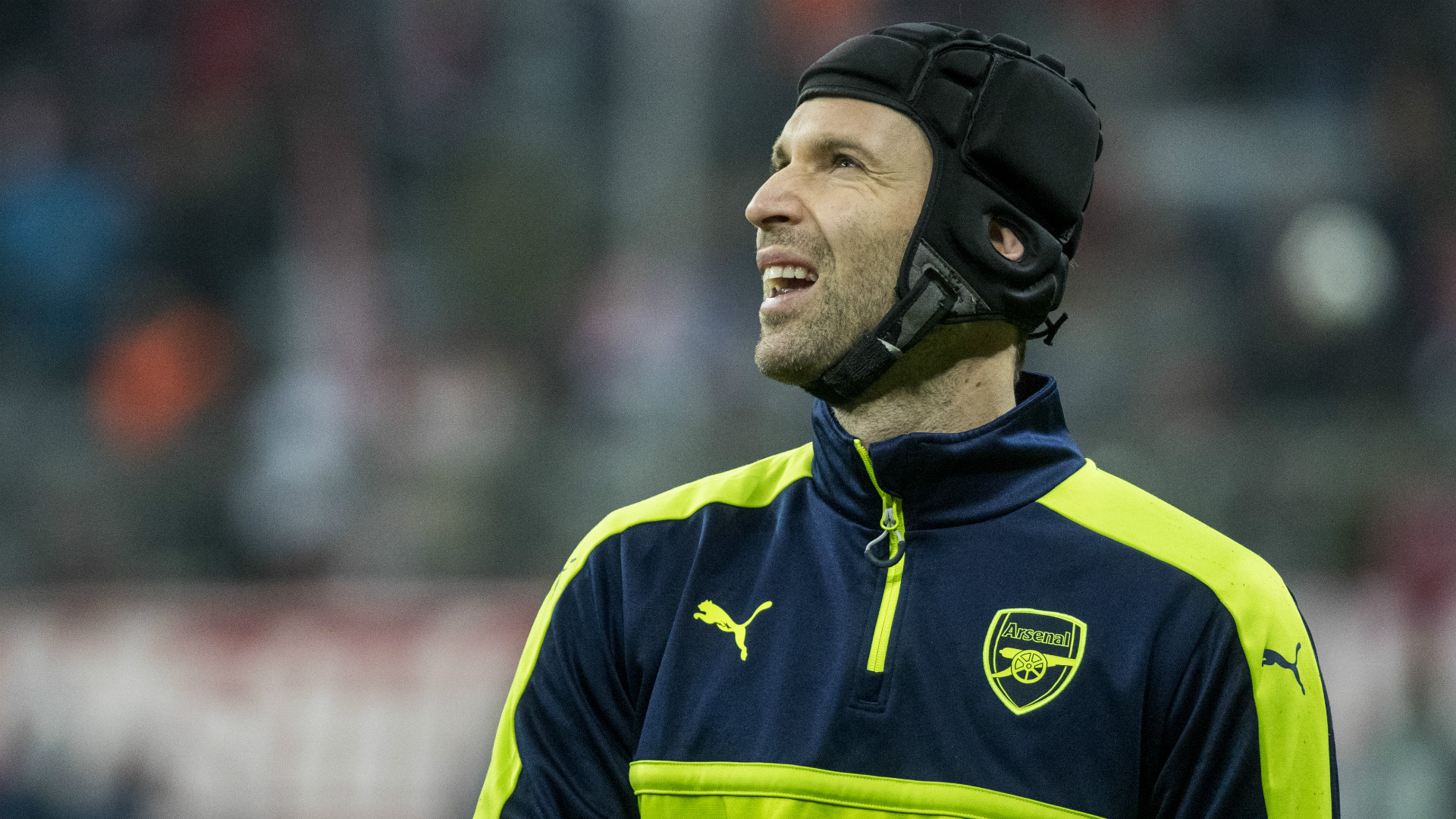 Petr Cech Arsenal 2017