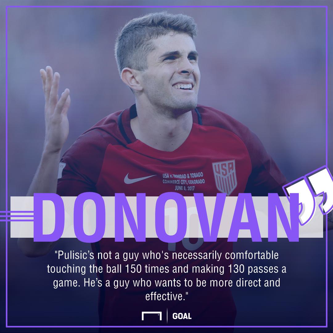 Donovsn Pulisic quote gfx