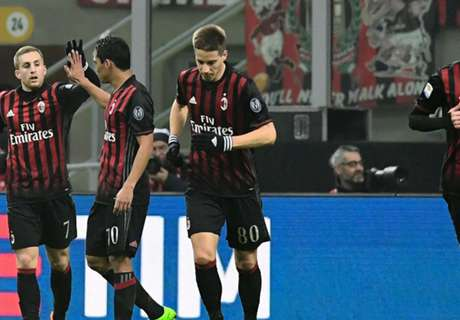 Deulofeu helps Milan to win