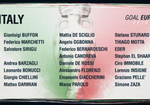 Italia | Gruppo E | Ct: Antonio Conte