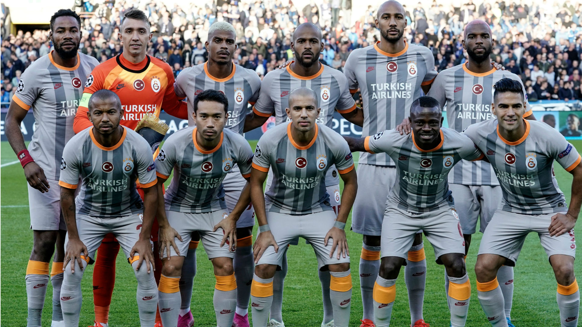 Luyindama, Feghouli, Lemina & Seri make Champions League history with Galatasaray