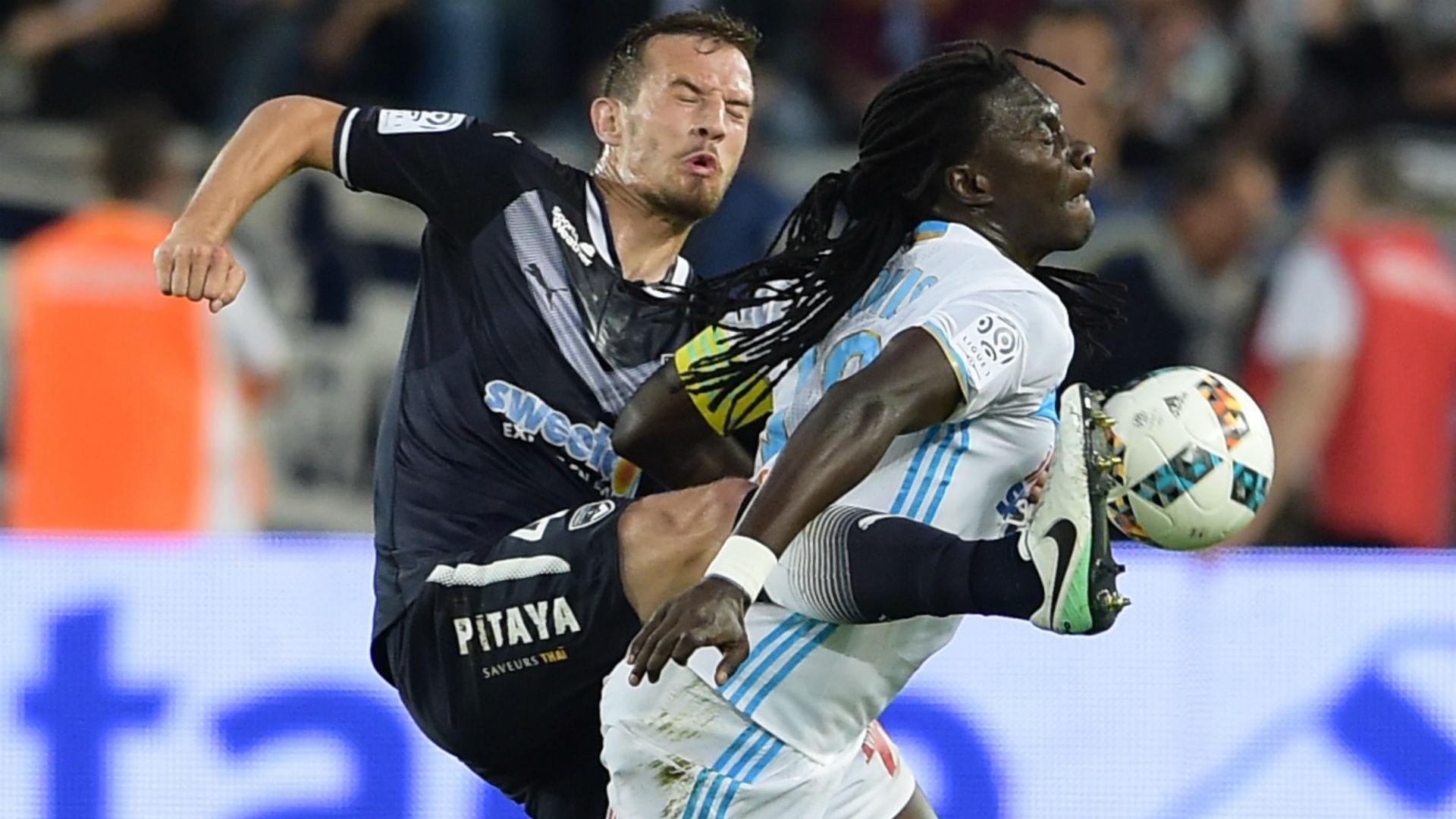 Bafetimbi Gomis Vukasin Jovanovic Bordeaux Marseille Ligue 1 14052017