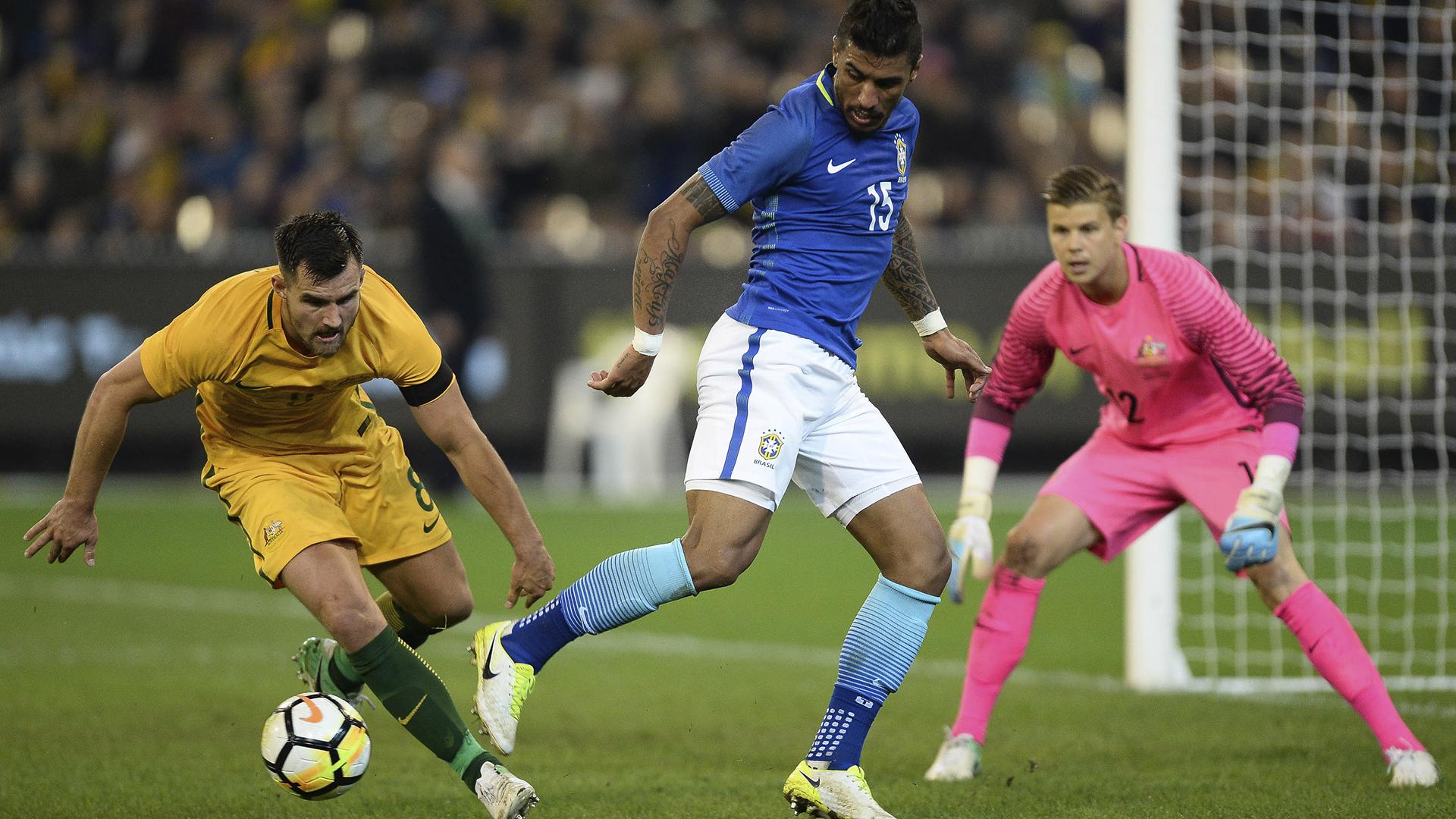 Paulinho Brasil x Austrália 13 06 17