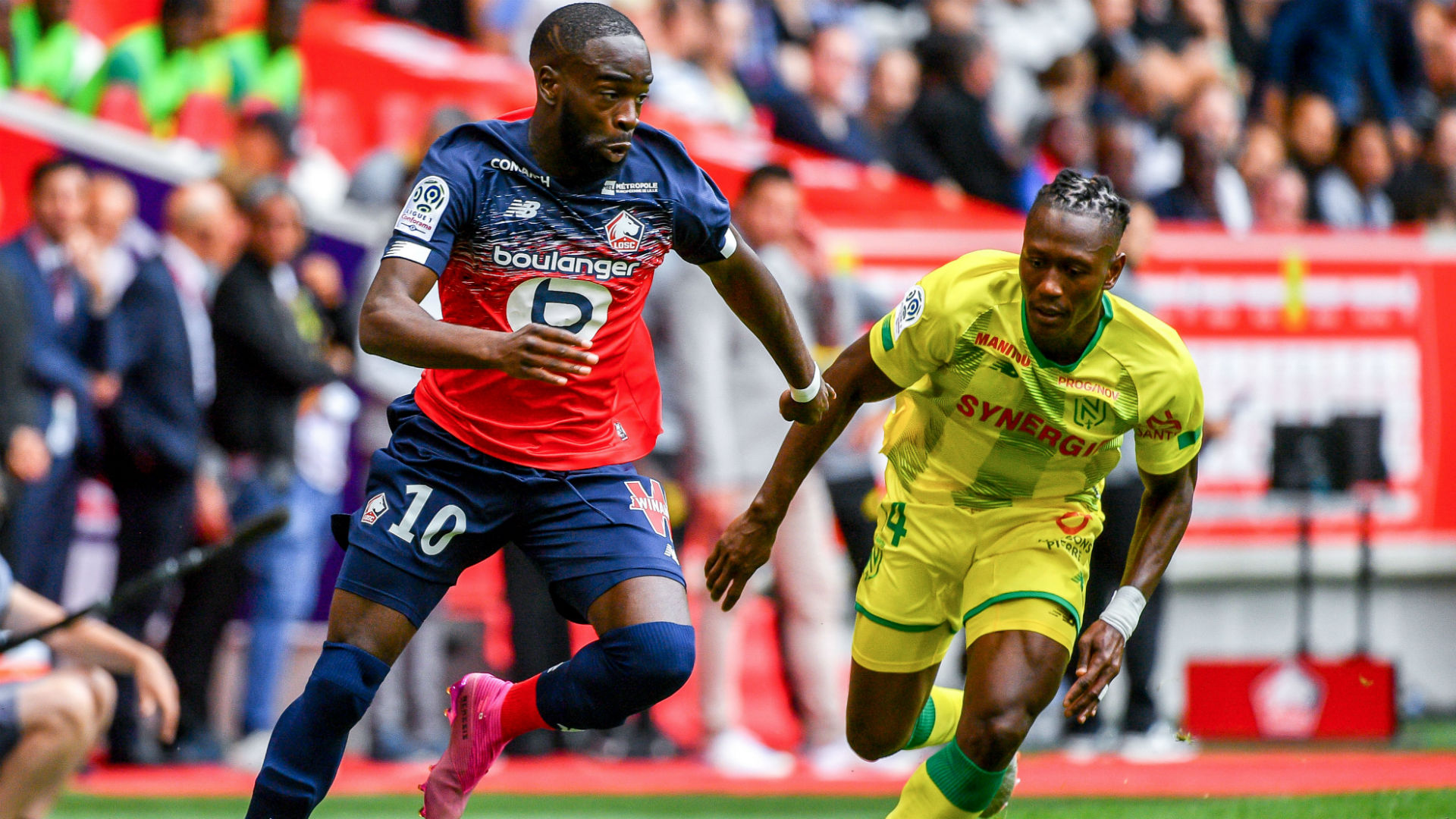 LOSC - Le Barça, le Real et l'Atlético surveillent Jonathan Ikoné