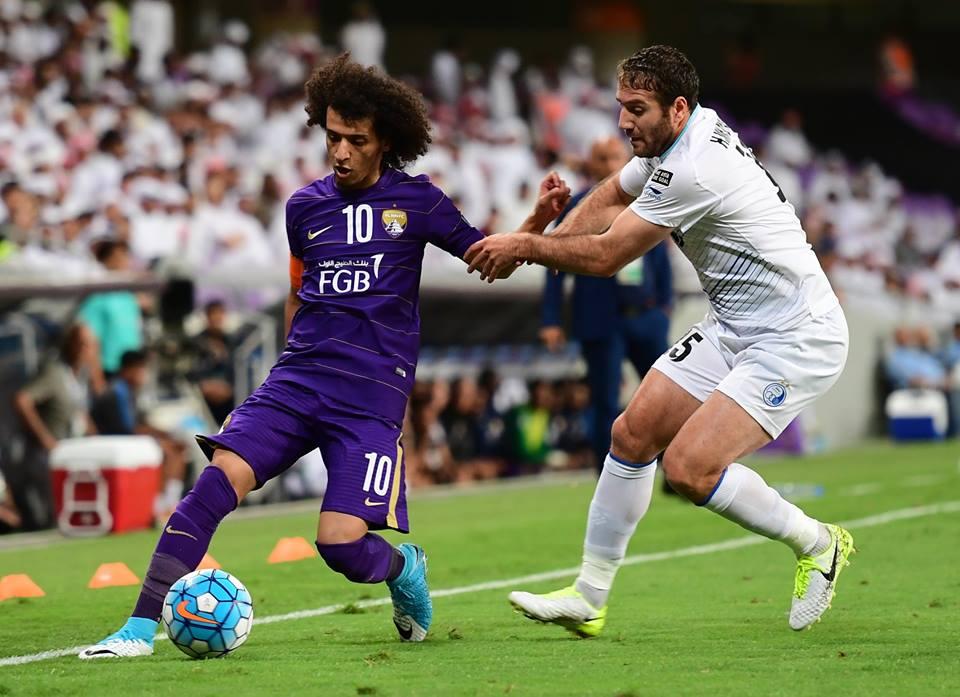 Al Ain vs Esteghlal; Omar Abdulrahman