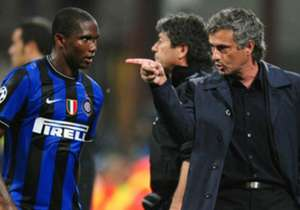 Jose Mourinho Samuel Eto'o Inter Milan Champions League 25042017