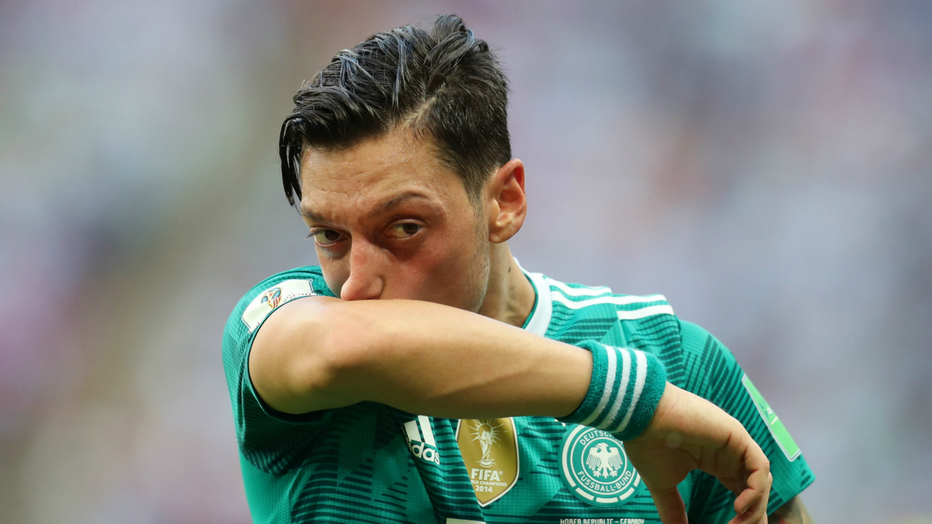 My picture with Turkish president not a political statement, insists Ozil