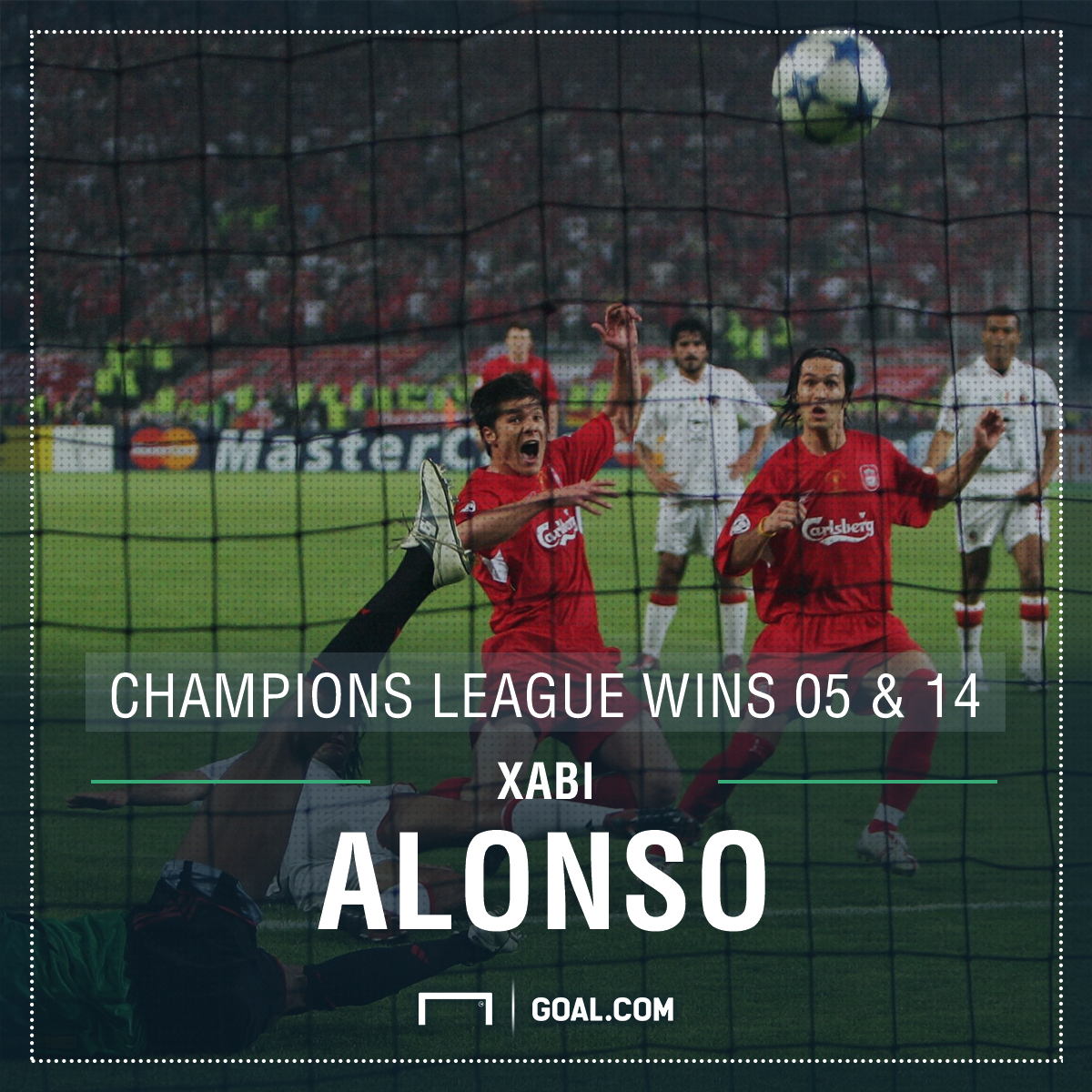 Xabi Alonso Champions League