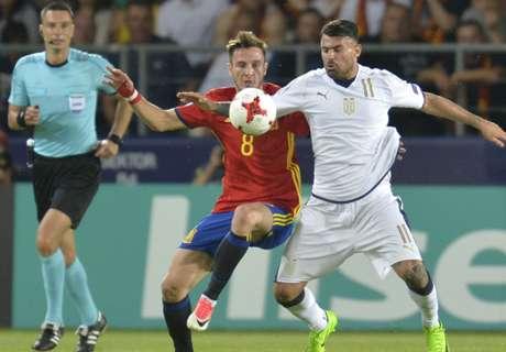 Europeo Sub 21: España 3-1 Italia