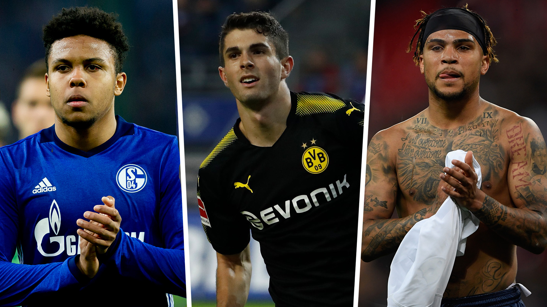 Pulisic, McKennie, Yedlin &the Americans Abroad Best XI
