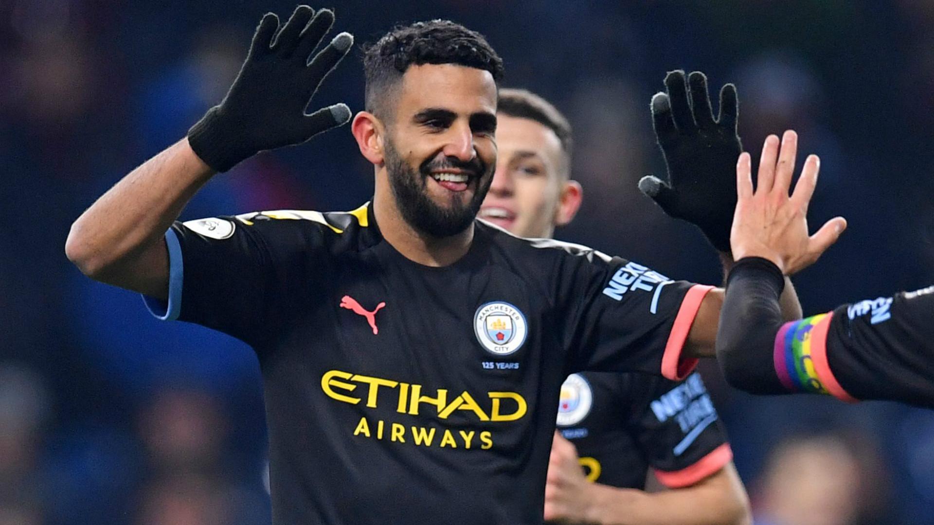Manchester City's Mahrez continues notable Champions League sway