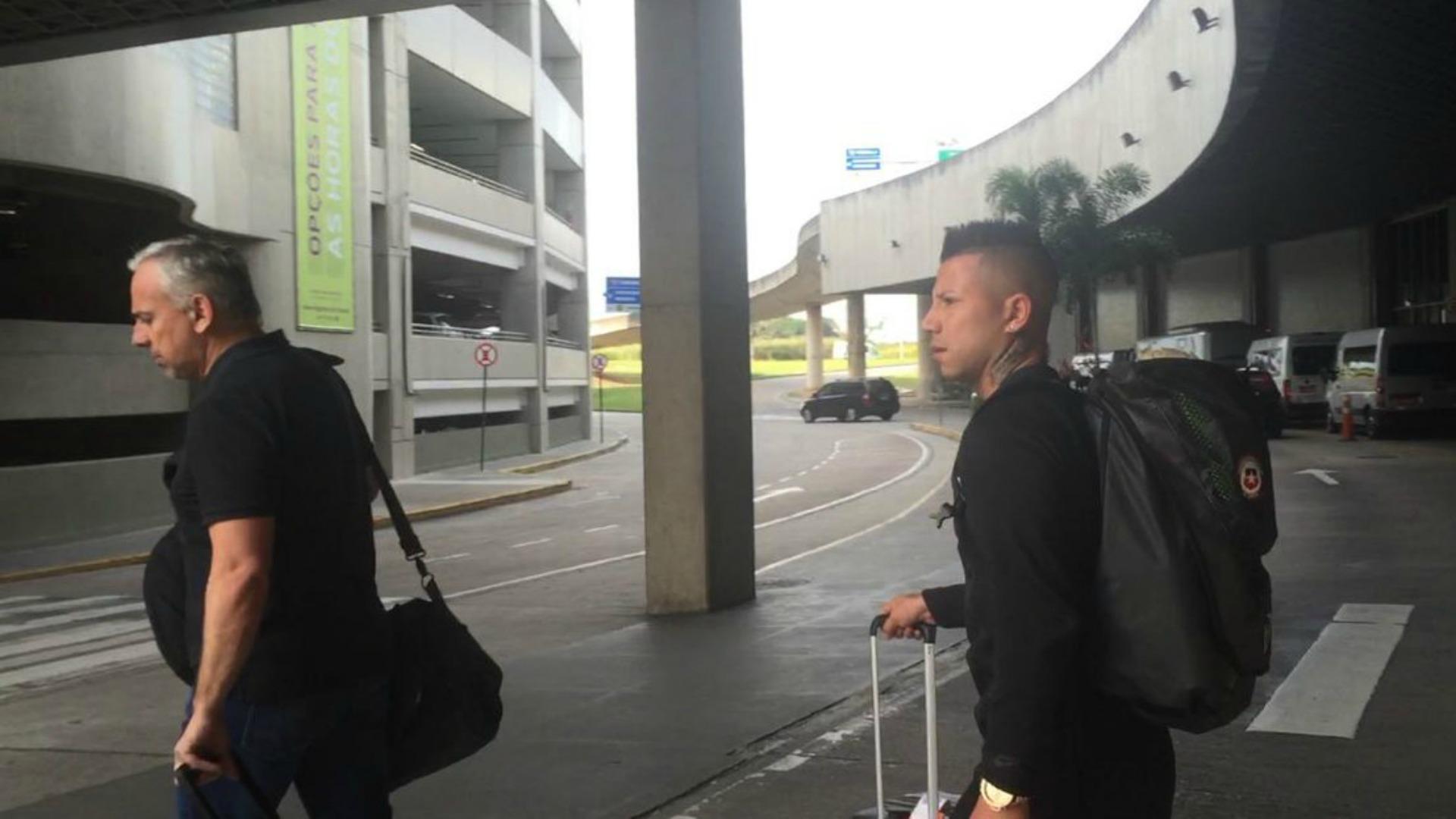 Botafogo presentó a Leonardo Valencia como su nuevo refuerzo