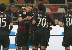 Gerard Deulofeu erzielte den entscheidenden Treffer für Milan