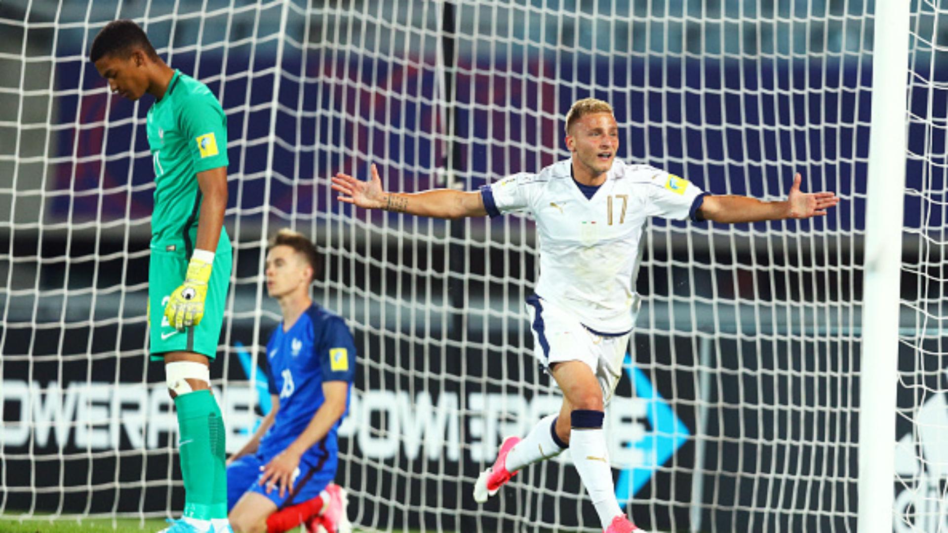 CDM U20 - La France éliminée par l'Italie