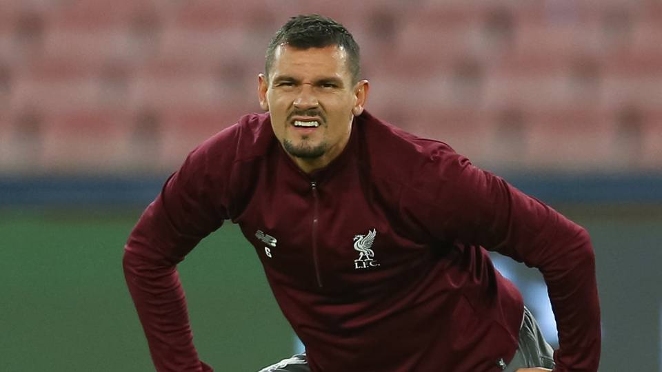 Dejan Lovren, Liverpool training