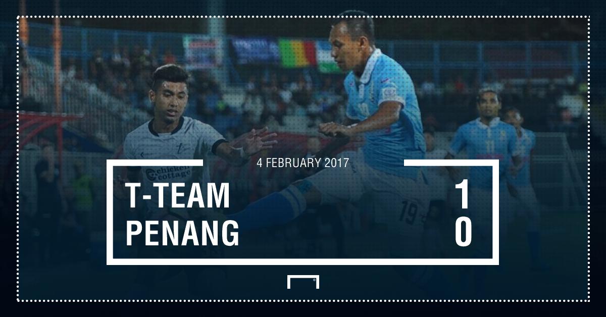 Result T-Team Penang Super League 2017