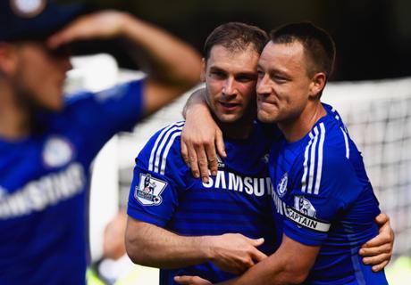 Terry hails Chelsea 'legend' Ivanovic