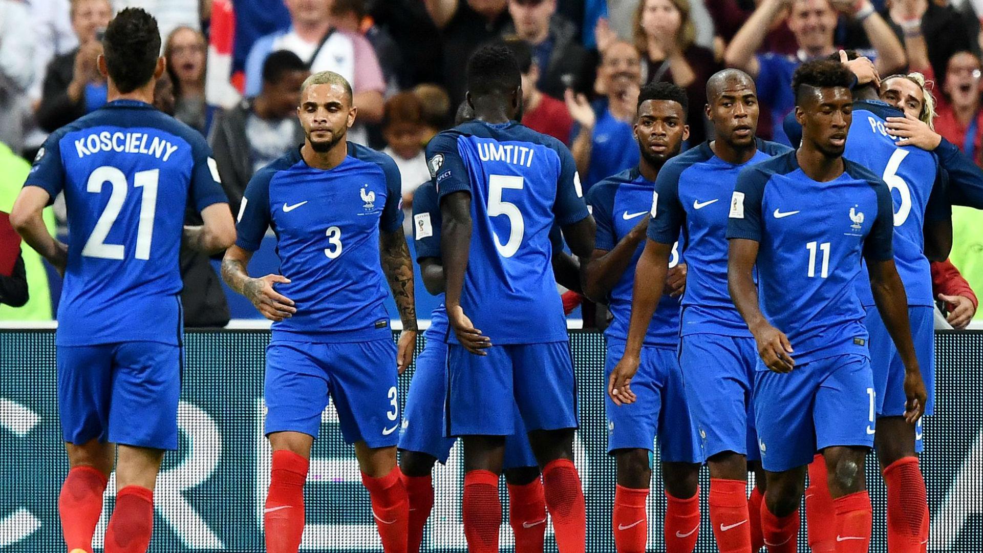 France Netherlands WCQ 31082017