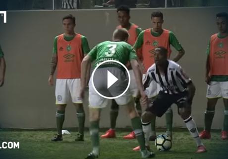 Robinho respektlos gegen Chapecoense