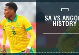 With South Africa set to face Angola in an international friendly match in East London on Tuesday, Goal takes a look at the history between the two Southern African giants.
