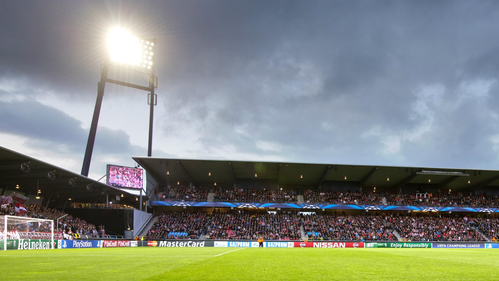 Nordjyske Arena AaB v APOEL Champions League 20082014