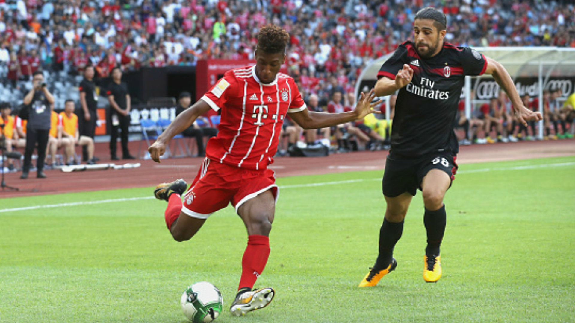 Ricardo Rodriguez Kingsley Coman Bayern Munchen Milan