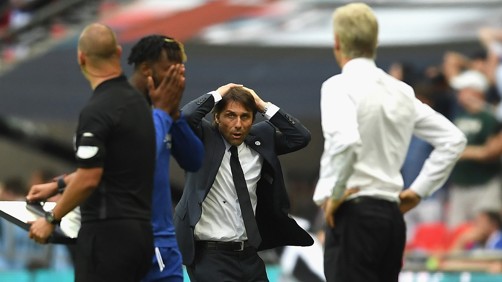 Antonio Conte Chelsea Arsenal FA Cup final