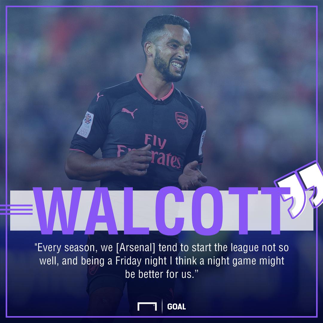 Theo Walcott Arsenal season opener
