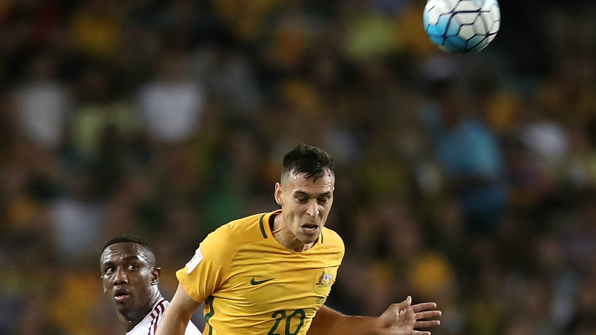 Trent Sainsbury Australia v United Arab Emirates World Cup qualifying 28032017
