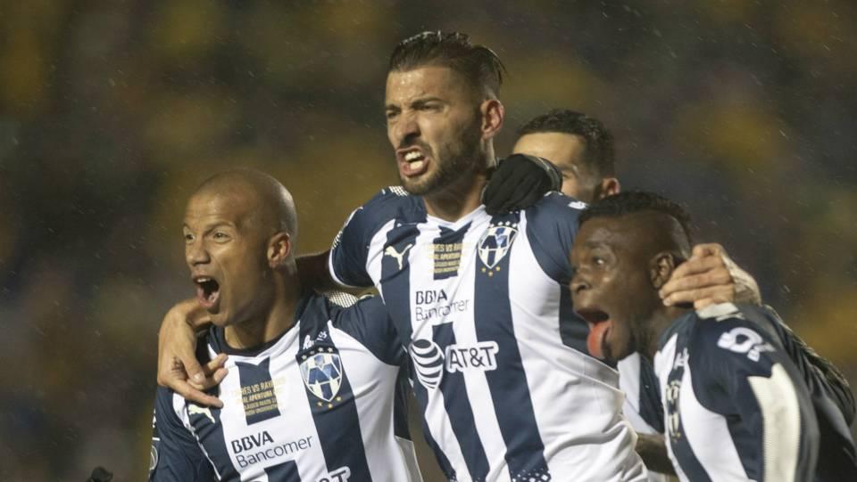 Carlos Sanchez Nicolas Sanchez Dorlan Pabon Monterrey