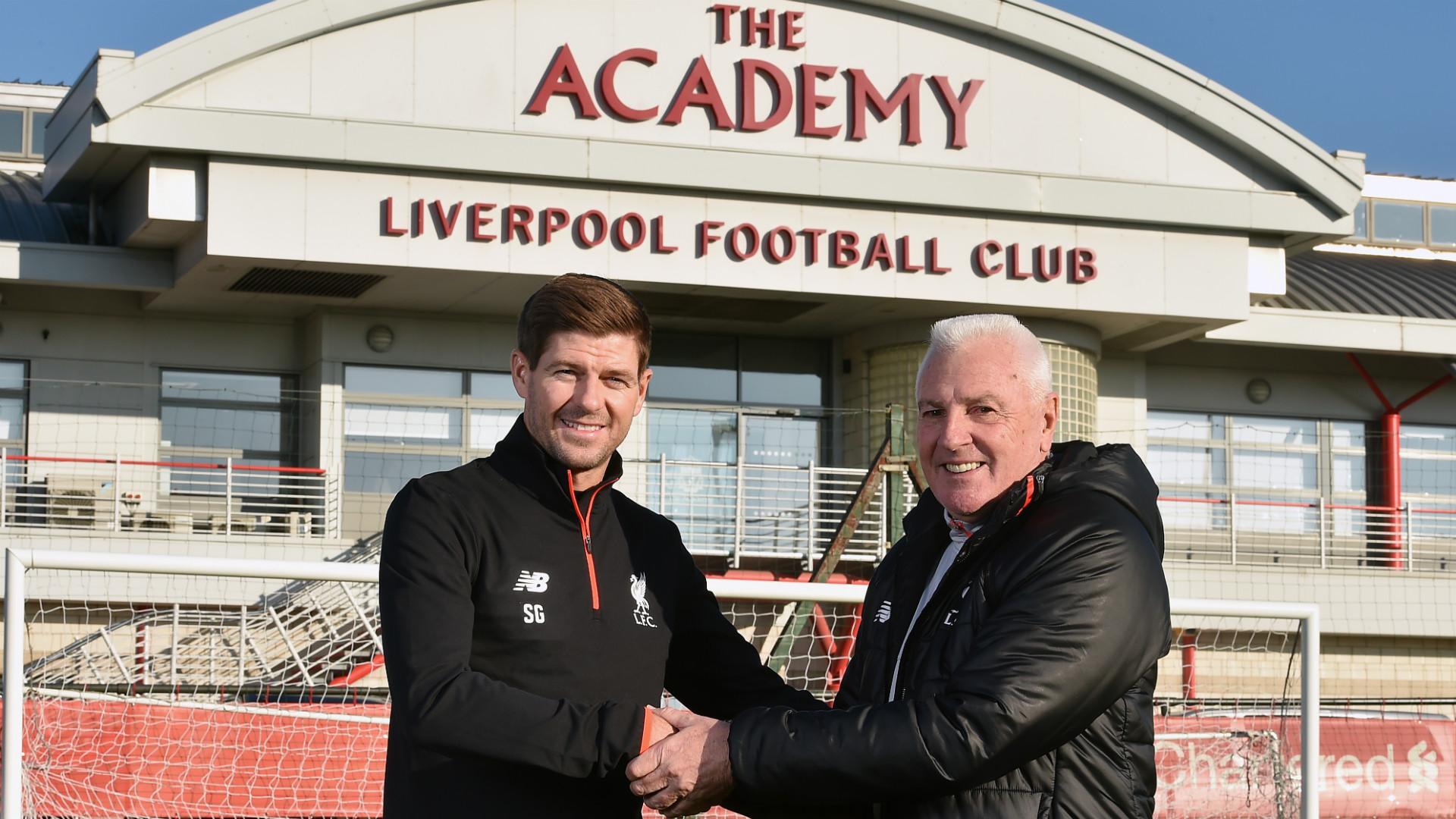 HD Steven Gerrard Steve Heighway