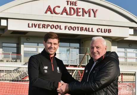Nommé manager de l'Academy, Gerrard fait son grand retour à Liverpool !