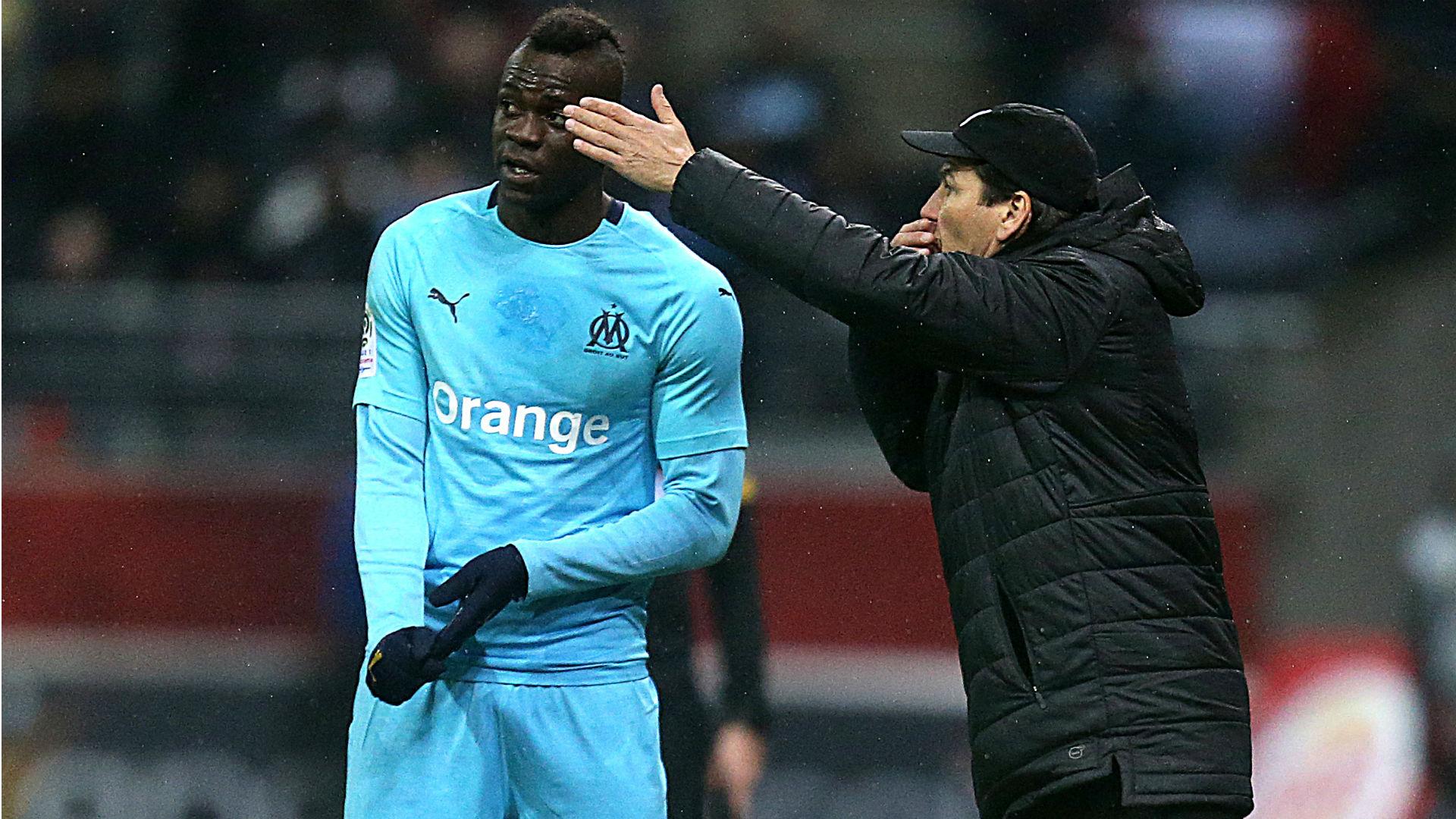 "OM - Mario Balotelli rend hommage à Rudi Garcia : ""Tu es un grand homme avant d'être un grand coach"""