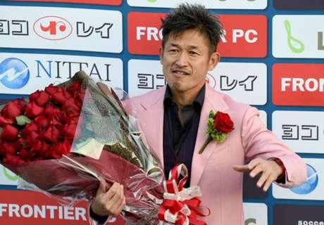 WATCH: Miura is world's oldest scorer