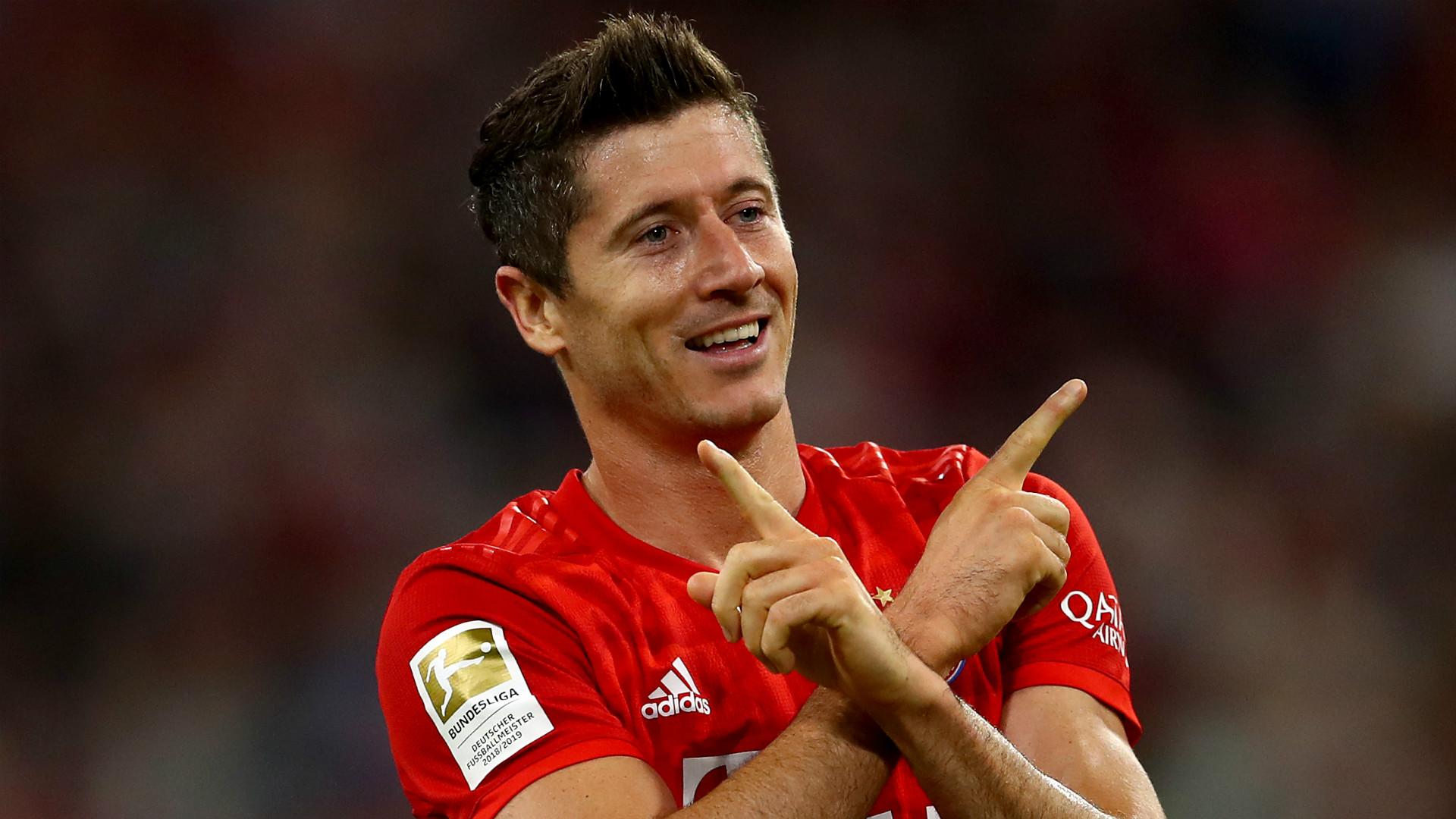 'It's a family secret!' - Lewandowski stays tight-lipped on signature goal celebration as he nears Bayern 200 mark