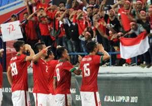 Indonesia mampu menunjukkan kelasnya di laga kedua ajang SEA Games 2017, melawan Filipina, mereka mampu menang dengan skor telak 3-0. Simak galeri foto selengkapnya!