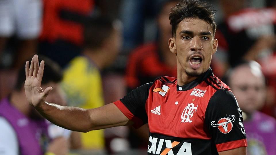 Lucas Paqueta Flamengo Santos Brasileirao Serie A 26112017