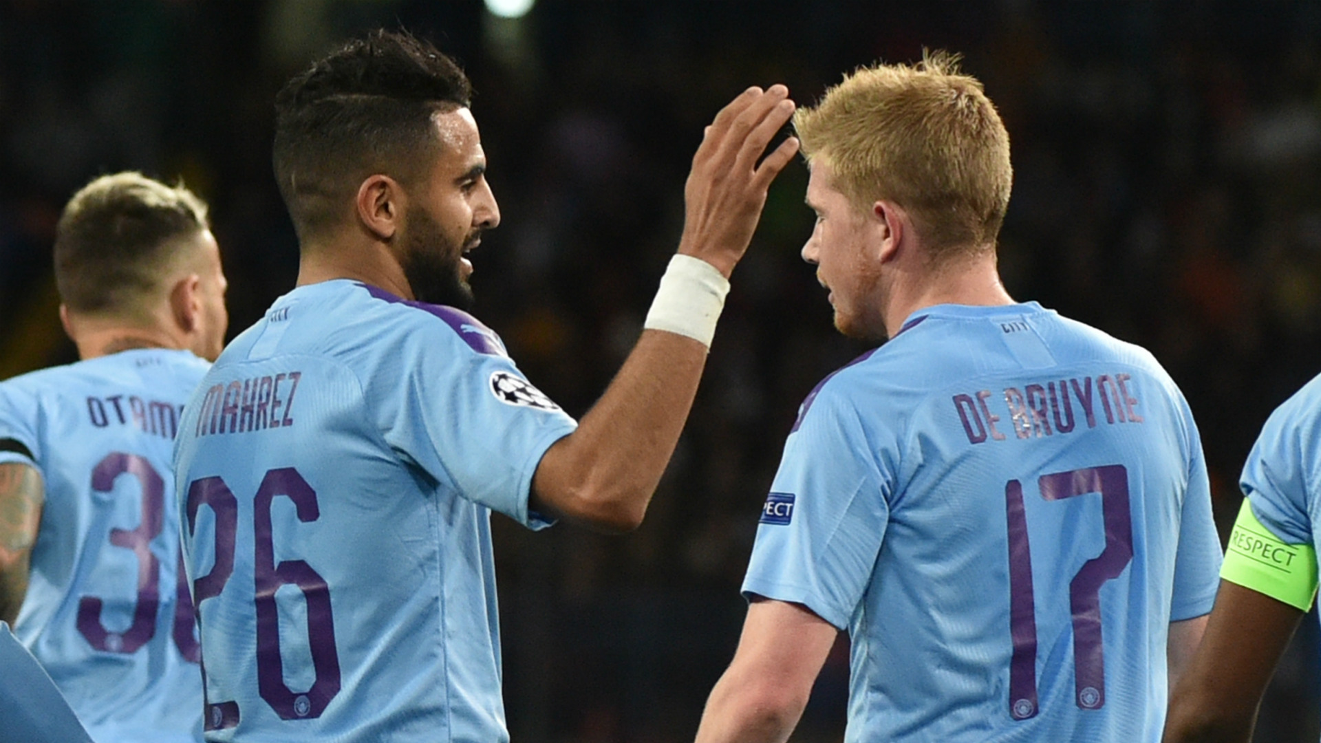 Riyad Mahrez lauds Manchester City's perfect Champions League start