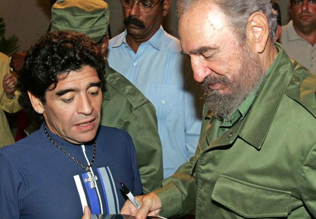 Fidel Castro - the man who saved Diego Maradona's life