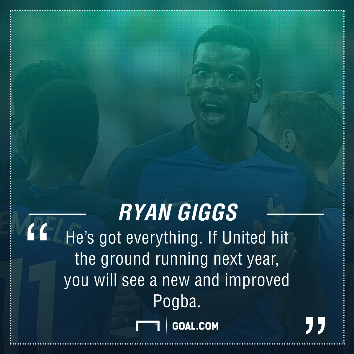 Paul Pogba: Ryan Giggs explains how Manchester United star can improve next season