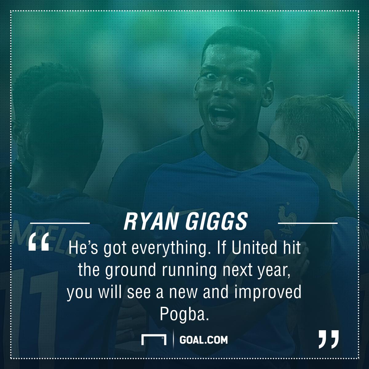 Ryan Giggs Paul Pogba